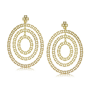 36313 18K Gold Layered Earring