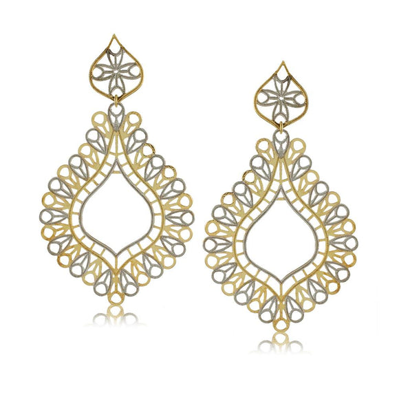 36317 18K Gold Layered Earring