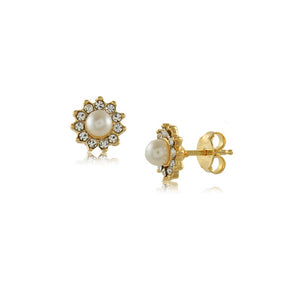 36323 18K Gold Layered Earring