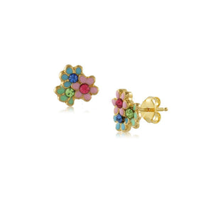 36325 18K Gold Layered Earring