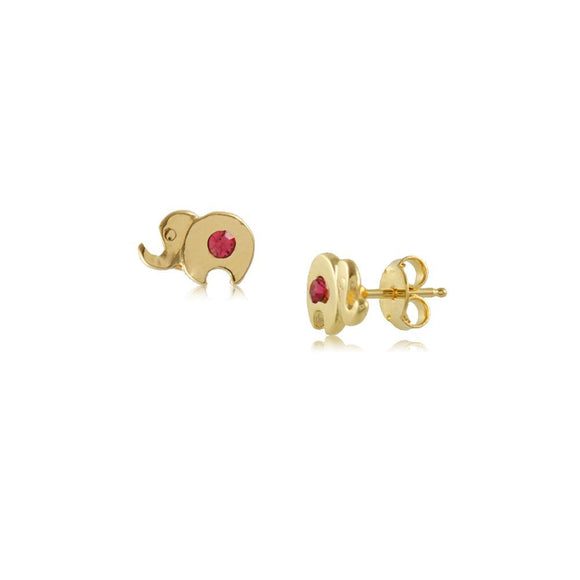 36327 18K Gold Layered Earring