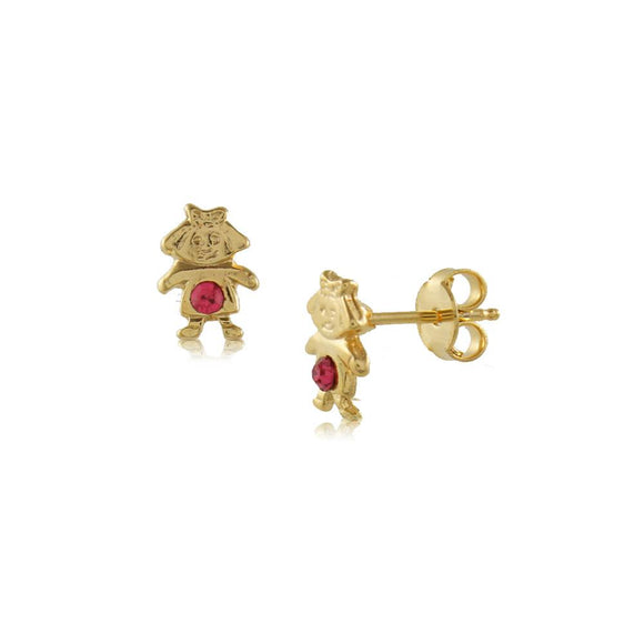 36330 18K Gold Layered Earring