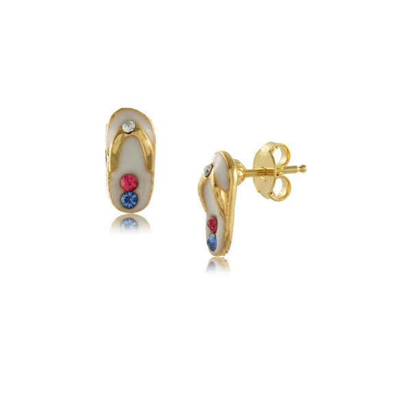 36338 18K Gold Layered Earring