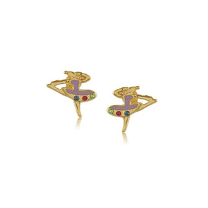 36345 18K Gold Layered Earring
