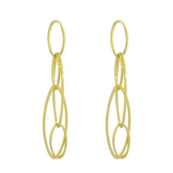 36349 18K Gold Layered Earring