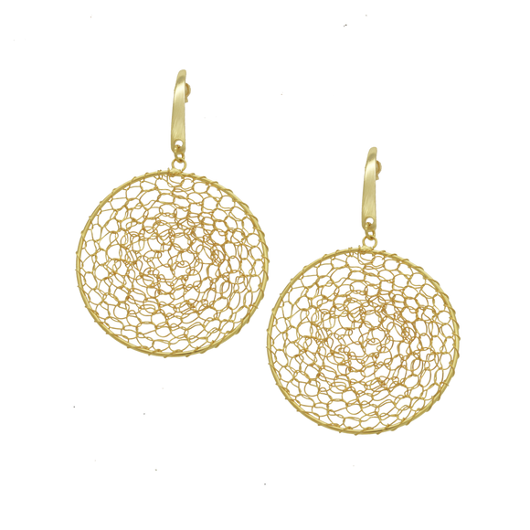 36408 18K Gold Layered Earring