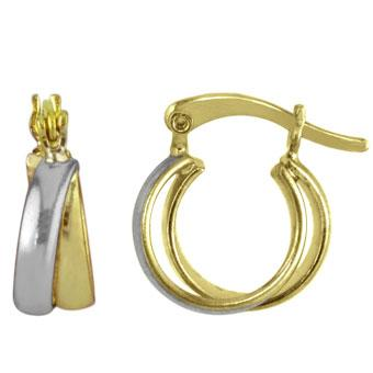 37469 18K Gold Layered Earring