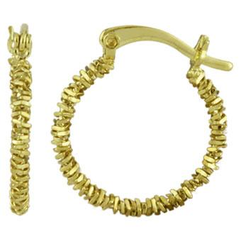 37689 18K Gold Layered Earring