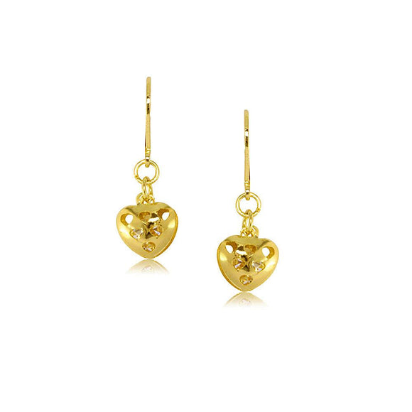 37733 18K Gold Layered Earring