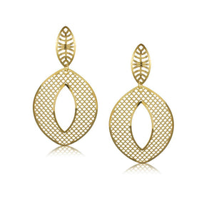 38230 18K Gold Layered -Earring