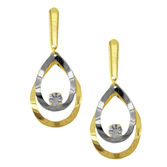 38416 18K Gold Layered Earring