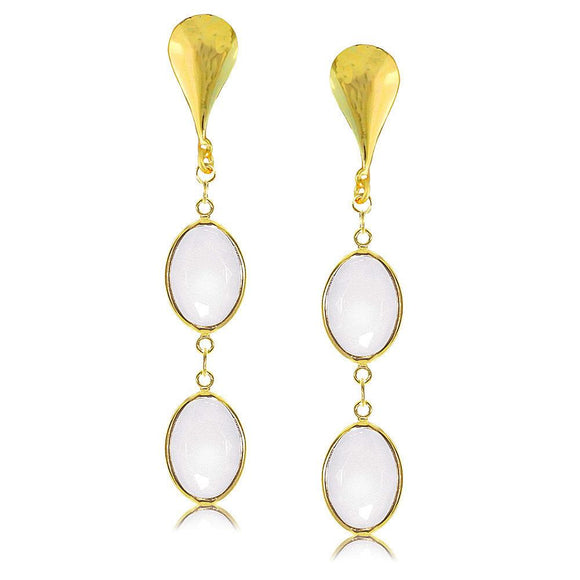 38672 18K Gold Layered -Earring