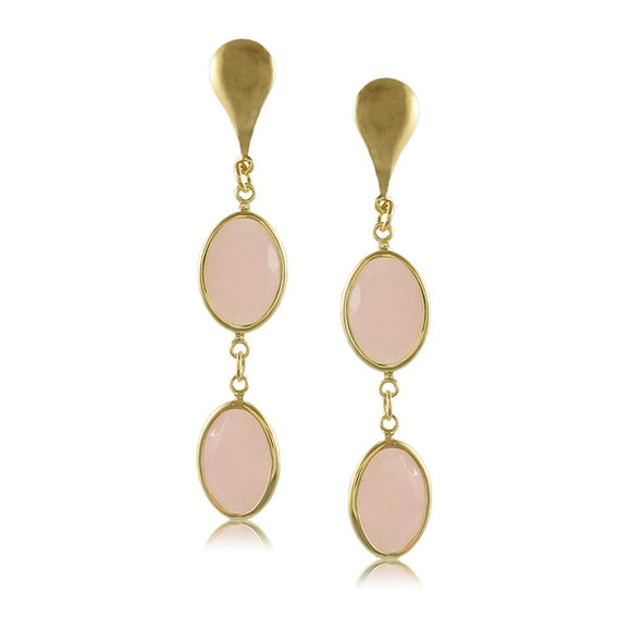 38677 18K Gold Layered -Earring