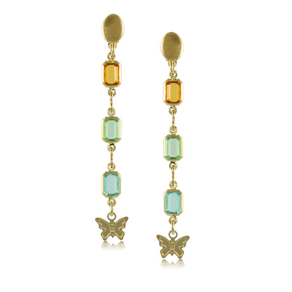 38678 18K Gold Layered -Earring