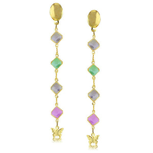 38681 18K Gold Layered -Earring
