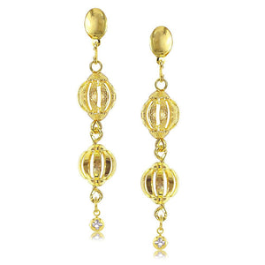 38690 18K Gold Layered -Earring