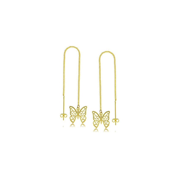 38782 18K Gold Layered Earring