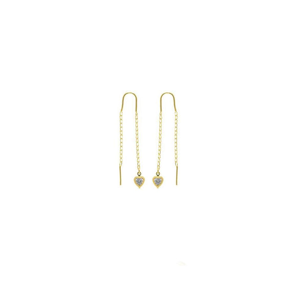 38965 18K Gold Layered Earring