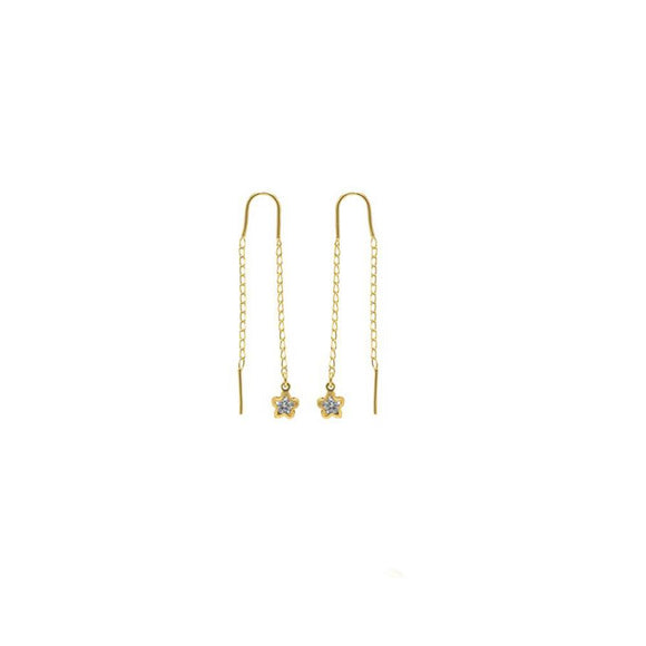 38966 18K Gold Layered Earring