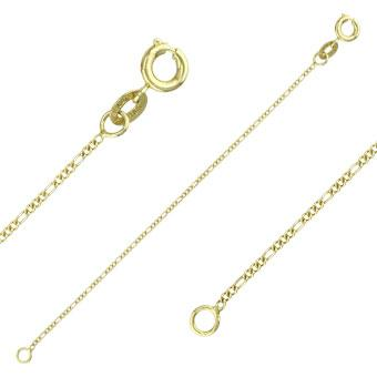 40002 18K Gold Layered -Chain 45cm/18in