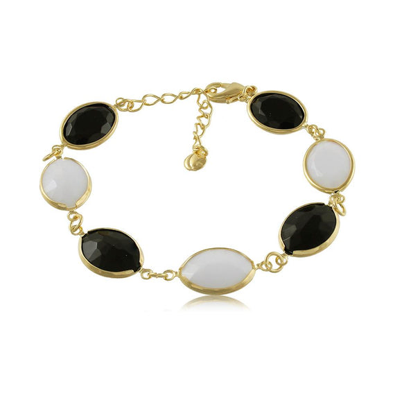 40010R 18K Gold Layered  Bracelet
