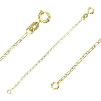 40031 18K Gold Layered -Chain 45cm/18in
