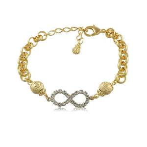 40046R 18K Gold Layered Bracelet 18cm/7in