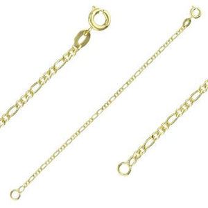 40106 18K Gold Layered -Chain 45cm/18in