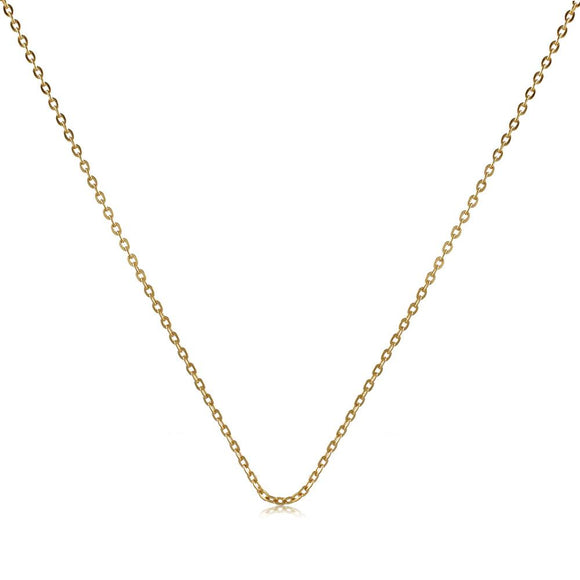 40231 18K Gold Layered -Chain 45cm/18in