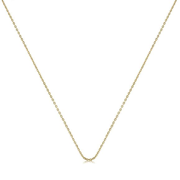 40521 18K Gold Layered -Chain 45cm/18in