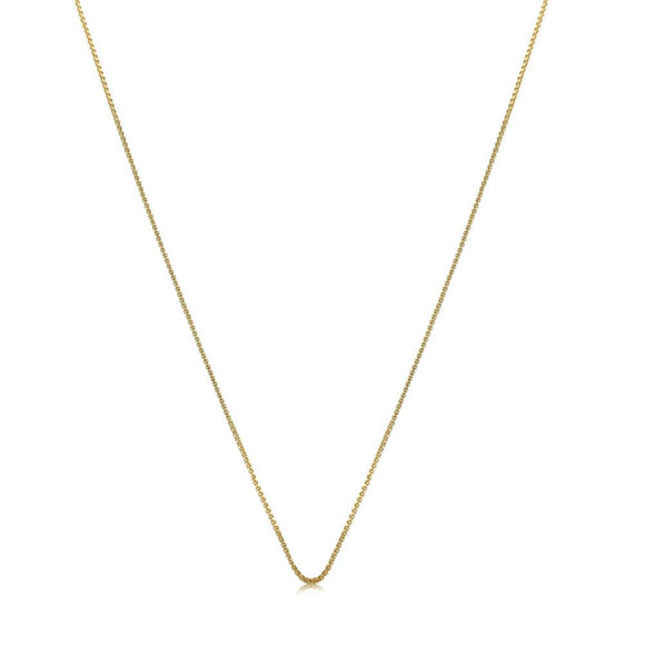 40581 18K Gold Layered -Chain 45cm/18in