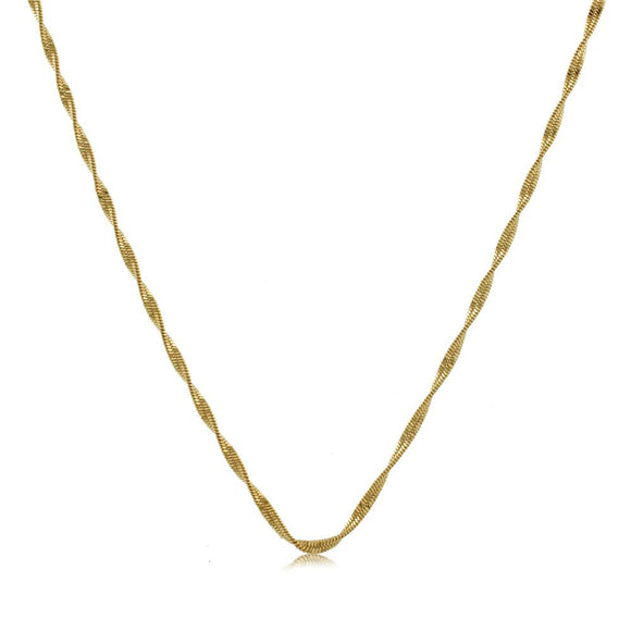 40607 18K Gold Layered -Chain 50cm/20in