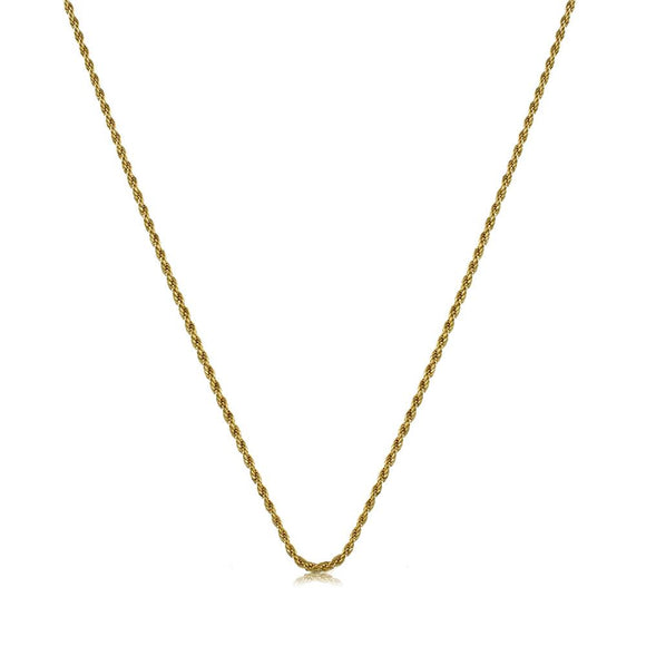 40612 18K Gold Layered -Chain 50cm/20in
