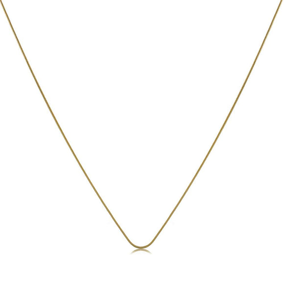 40836 18K Gold Layered -Chain 45cm/18in