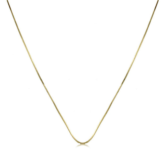 40856 18K Gold Layered -Chain 45cm/18in