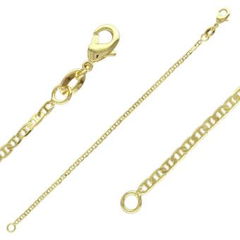 40936 18K Gold Layered -Chain 45cm/18in