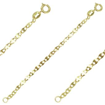 41222 18K Gold Layered -Chain 50cm/20in