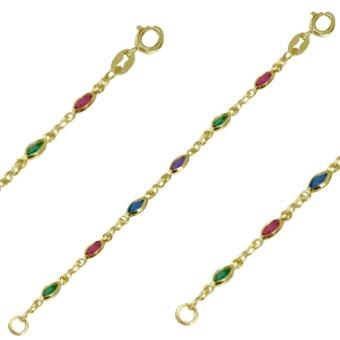 41256 18K Gold Layered -Chain 45cm/18in