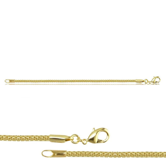 41426 18K Gold Layered -Chain 45cm/18in