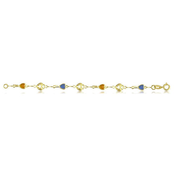 41461 18K Gold Layered -Chain 45cm/18in