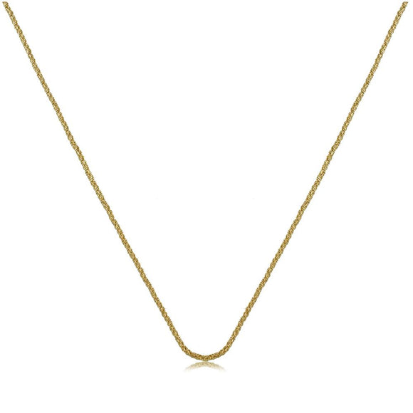 41691 18K Gold Layered -Chain 45cm/18in