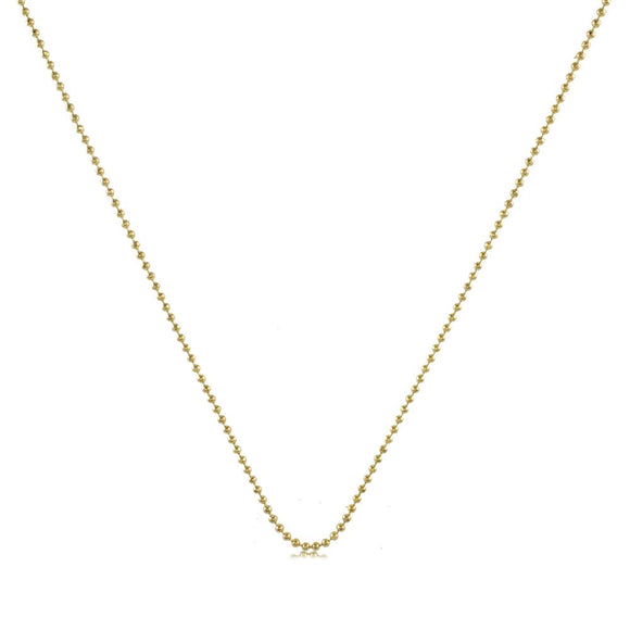 43001 18K Gold Layered Chain 45cm/18in