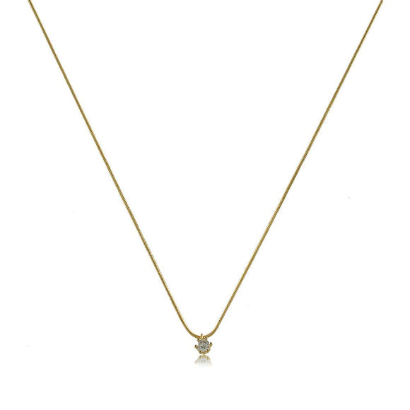 45053 18K Gold Layered -Necklace 45cm/18in