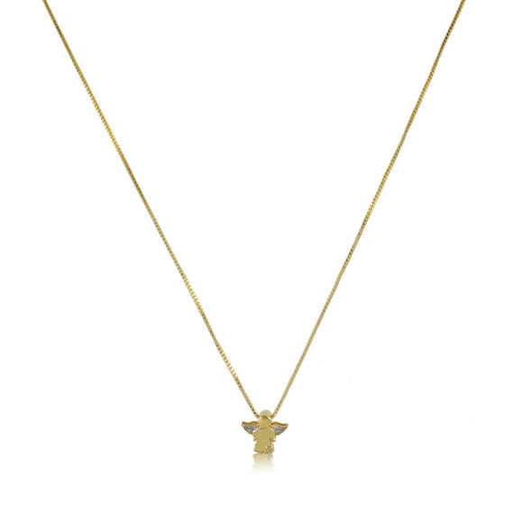 45138 18K Gold Layered -Necklace 45cm/18in