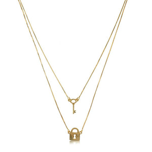 45191 18K Gold Layered -Necklace 45cm/18in