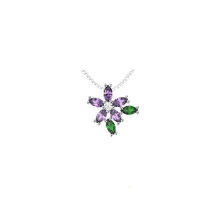 45246P - CZ 925 Sterling Silver Necklace