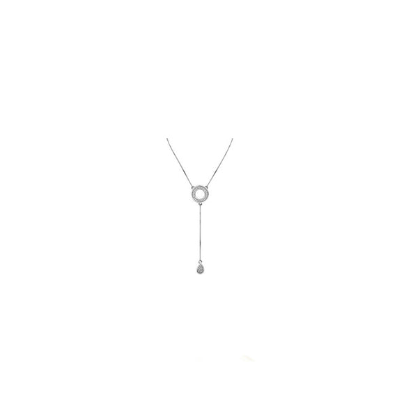 45269P - CZ 925 Sterling Silver Necklace