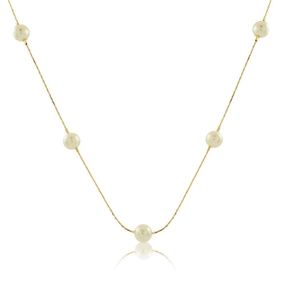 46008 18K Gold Layered Necklace 50cm/20in
