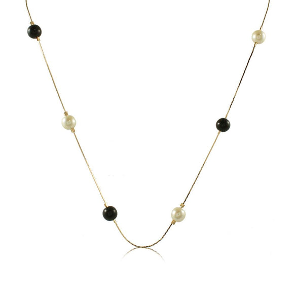46009 18K Gold Layered Necklace 50cm/20in