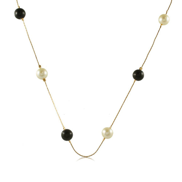 46011 18K Gold Layered Necklace 50cm/20in